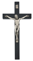 "(81-78) 10"" BLACK  EI-8 CRUCIFIX BAG"