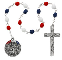 (CH127) MILITARY CHAPLET, CARDED