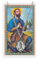 (PSD684IS) ST ISIDORE MEDAL & PRAYER CARD