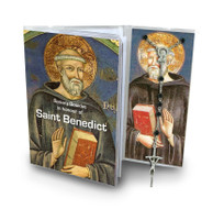 (RSBK18) ST. BENEDICT ROSARY & BOOKLET