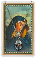 (PSD819) O.L. SORROWS PENDANT & PRAYER