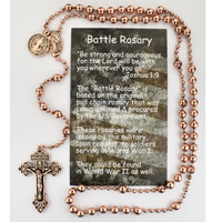 (P251BC) COPPER PLATED ST BENEDICT RSRY