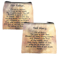 (RP12) HAIL MARY & LORD'S PRAY POUCH