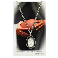 (PSD679FT) BOY FOOTBALL PRAYER CARD SET