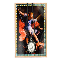 (PSD682MK) ST MICHAEL PRAYER CARD SET