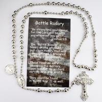 (P415BC) SILVER PLATED ST BENEDICT RSRY