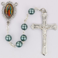 (R756F) 7MM TEAL PEARL O.L. GUADALUPE