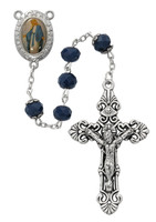 (P398R) BLUE O.L. OF GRACE ROSARY