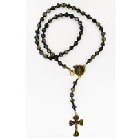 (P394C) RIVER ROCK ROSARY WITH