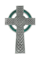 "(79-13) 5-1/2"" PEWTER CELTIC CROSS"
