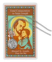 (PSD1) ST JOSEPH CONSEC. PENDANT SET