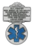 (VC-912) EMT BLUE EPOXY VISOR CLIP