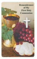 (PCD1) PEWTER COMMUNION PIN WITH
