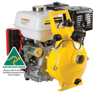 Rugged, economical single stage self priming pump.
