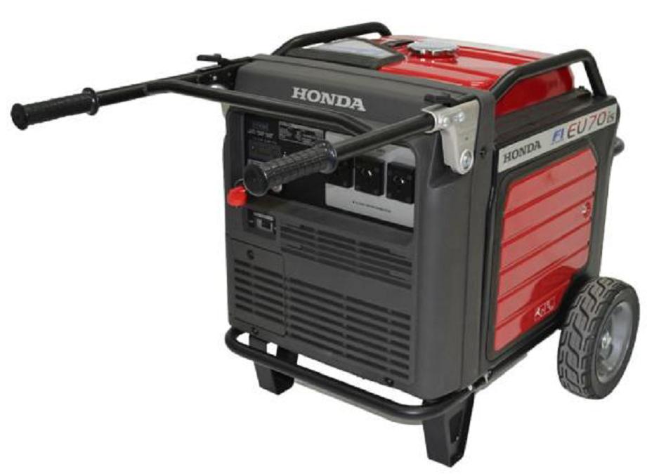 Honda EU70is a Portable, silent, inverter generator.