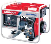 YANMAR YDG3700N-5EF RCD 3.2 kVA AVR DIESEL ELECTRIC START GENERATOR