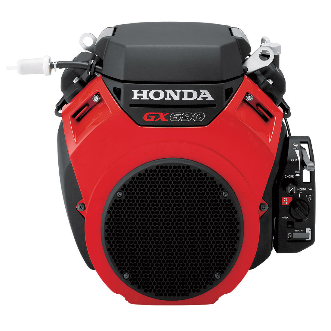 Honda V-Twin engines offer higher horsepower, improved adaptability, quiet operation, and greater fuel efficiency, not to mention a 3 year warranty.