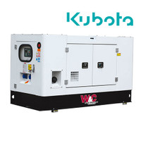 8.8kVA Single Phase, Standb Diesel Generator with Kubota Engine in Canopy