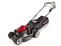 The NEW Honda HRU216 Buffalo PRO. Honda's trusty GXV160 engine, 21'' alloy deck, huge 70 litre catcher and swing back blades. The ideal mower for Professionals for large sized lawns.