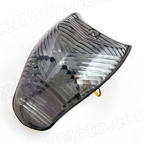The LED turn signals integrated taillights assembly was compatible with BMW K1200R/S, this taillights combines tail lights and turn signals into one unit and are more functional.