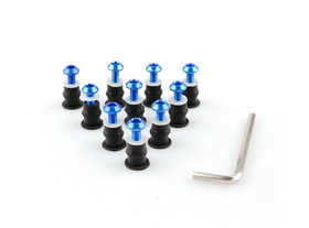 The items are available for most applications. A Wellnut Kit consists of flanged neoprene bushings with a captive brass nut and hex head screws. Our Fastener Kits are designed to provide a vibration resistant attachment to the fairing.