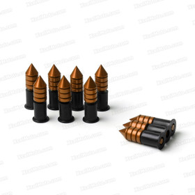 The Windscreen Spike Bolts comes with aluminum bolts, nylon washers, well nuts and each of them contains 10 pieces. A Well nut Kit consists of flange neoprene bushings with a captive brass nut and spike head screws. This Fastener Kits are designed to provide a vibration resistant attachment to the fairing.