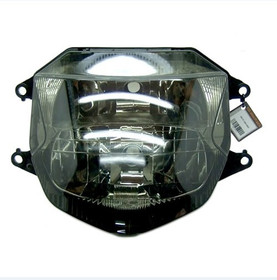 The motorcycle headlight/headlamp assembly kit for 1997 to 2007 Honda CBR1100XX is a direct O.E.M. replacement and made to O.E.M. specification to fit and look just like the original.