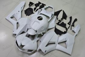 2013 2014 2015 2016 2017 2018 2019 Honda CBR600RR matte white fairings and bodywork.