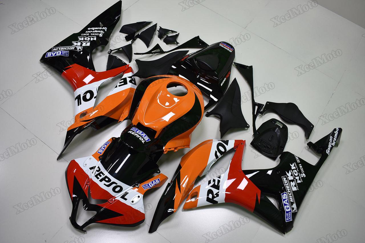 2007 2008 Honda Cbr600rr Repsol Fairings Xcelmoto