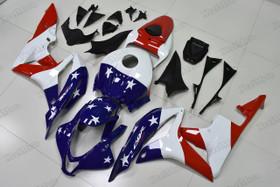 2007 2008 Honda CBR600RR US flag fairings