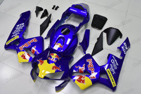 2003 2004 Honda CBR600RR RedBull fairings and body kits, Honda CBR600RR OEM replacement fairings and bodywork.
