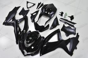2008 2009 2010 Suzuki GSXR600/750 black fairings and body kits, Suzuki GSXR600/750 OEM replacement fairings and bodywork.