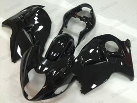 Suzuki GSX1300R Hayabusa gloss black fairings and body kits, Suzuki Suzuki GSX1300R Hayabusa OEM replacement fairings and bodywork.