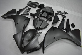 2012 2013 2014 Yamaha R1 matte black fairings.