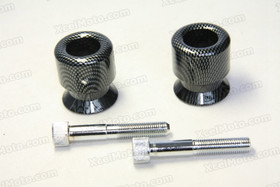 Motorcycle Swingarm Spools, Swingarm Bobbins With 10mm thread and Laser ZXR Logo.