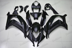 2016 2017 2018 Kawasaki Ninja ZX10R matte black fairings