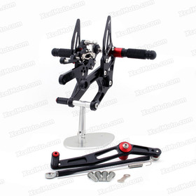 Motorcycle rear sets assembly for 2006 to 2015 Yamaha YZF-R6 are design to improve the ground clearance, crash worthiness and overall good looks of your bike.