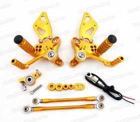 Motorcycle Rear Sets Assembly for Ducati 848/1098/1198, Ducati 848/1098/1198 original rear sets replacement.