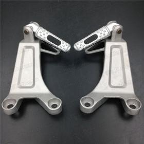 2003 2004 Honda CBR600RR rear/passenger foot pegs and mount bracket assembly. Honda CBR600RR foot rest and holder assembly.
