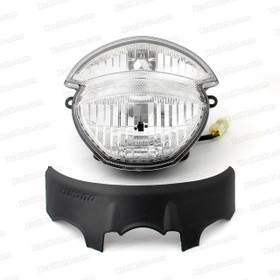 Motorcycle headlight/headlamp assembly kit for Ducati 659/696/795/796/M1100.