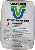 "Activated Alumina Desiccant 3/16"" 50lb Bag"