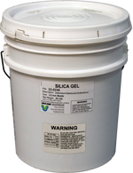 Silica Gel Desiccant - Indicating Beads 25lb Pail
