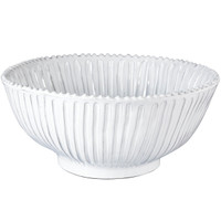 Vietri Incanto Large Stripe Serving Bowl