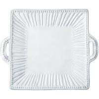 Vietri Incanto Stripe Square Handled Platter