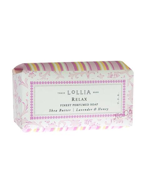 Lollia Relax Shea Butter Bar Soap