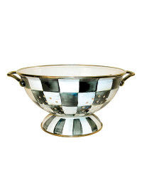 MacKenzie-Childs Courtly Check Large Colander