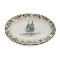 Goree - Arte Italica Natale Small Oval Tray