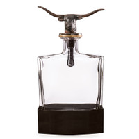 Nelson - Jan Barboglio Longhorn Decanter