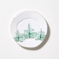 Watts - Vietri Lastra Holiday Salad Plate