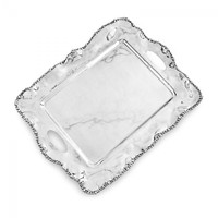 Wheeler - Beatriz Ball Organic Pearl Kristi Tray with Handles